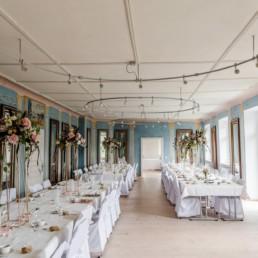 Heiraten in dem wunderschönen Schloss Ludwigsthal in Zwiesel Location wurde fotografiert von Veronika Anna Fotografie