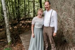 Hochzeitsfotografie im Standesamt Wildnis.
