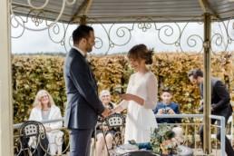 Freie Trauung an der Hochzeitslocation Schloss Maierhofen im niederbayerischen Regensburg