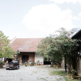 Eine Hochzeitslocation in Bayern aufgenommen von Veronika Anna Fotografie